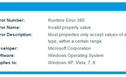 خطای Runtime error 380,خطای 380 ,380,Runtime error 380