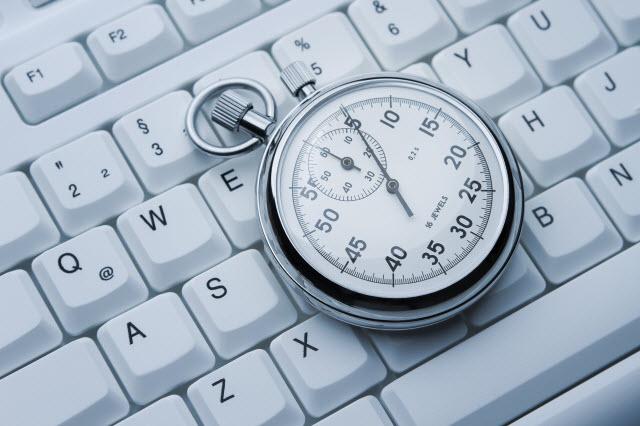 ذخیره زمان,تایپ ده انگشتی