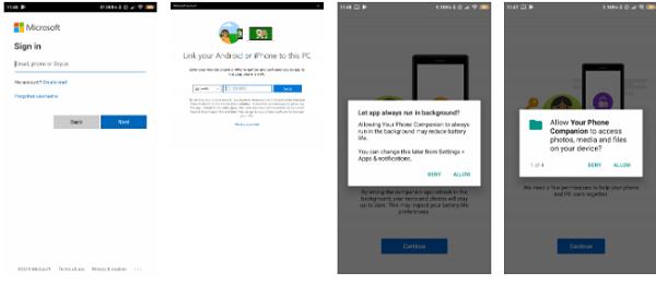 انتقال عکس ها و ارسال متن ها با استفاده از Your Phone