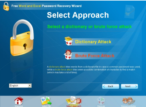 نرم افزار Free Word and Excel Password Recovery Wizard
