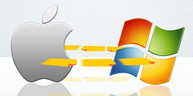 اشتراک گذاری فایل های بین مک و ویندوز