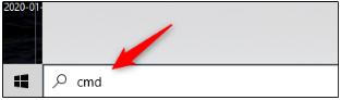 مرحله روش اول: استفاده از Command Prompt برای پیدا کردن شماره سریال ویندوز 10